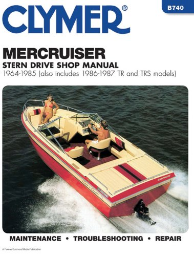 Merccruiser Stern Drv 64-1985 (Alsoincludes 1986-1987 Tr and Trs Models B740)