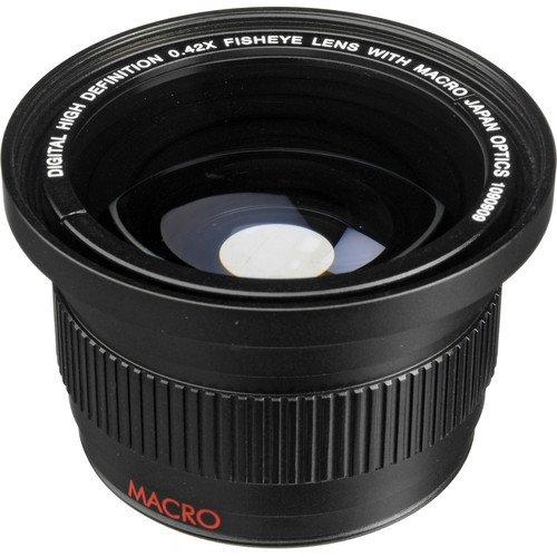 0.42x Fish-Eye WEITWINKEL VORSATZKONVERTER Objektive mit MAKROLINSE (für 52mm, Anschlussgewinde) für Nikon 3000, D3100, D3200, D3300, D5000, D5100, D5200, D5300, D5500, D7000, D7100, DF, D3, D3S, D3X, D4, D40, D40x, D50, D60, D70, D70s, D80, D90, D100, D200, D300, D600, D610, D700, D750, D800, D800E, D810 SLR-Digitalkamera