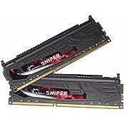 G.Skill F3-1866C10D-16GSR Sniper Series 16GB 2x8GB DDR3-1866Mhz RAM Memory