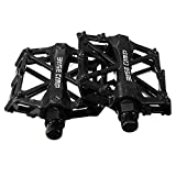 E821 Ultralight Aluminum Bicycle Pedals MTB Mountain Bike Cycling Racing Pedals 2pcs