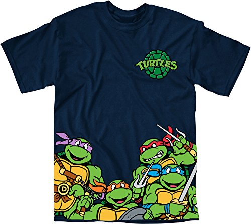 TMNT Bottom Print T-Shirt