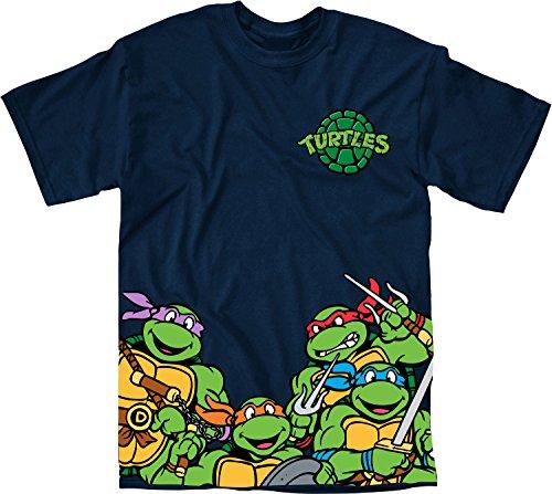 TMNT Bottom Print T-Shirt