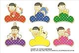 おそ松さん×サンリオキャラクターズ トレーディングメタルピンバッジ BOX商品 1BOX = 6個入り、全6種類