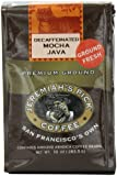 Jeremiah's Pick Coffee Mocha Java Decaf Ground Coffee, 10-Ounce Bags (Pack of 3)