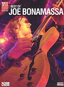 Joe Bonamassa: Best Of (TAB). Partitions pour Tablature Guitare, Voix