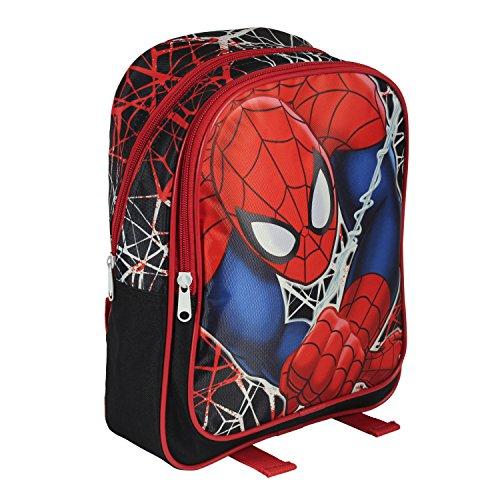 Zaino scuola Marvel - SPIDERMAN - 30cm poliestere doppia zip