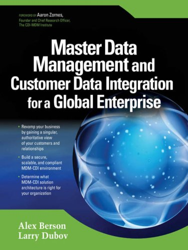 Master Data Management and Customer Data Integration for a Global Enterprise