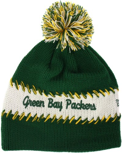 Green Bay Packers Women's Retro Loop Knit Cap from New Era