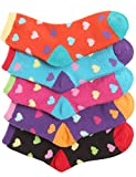 Haslra Soft Warm Microfiber Fuzzy Socks 5 Pairs