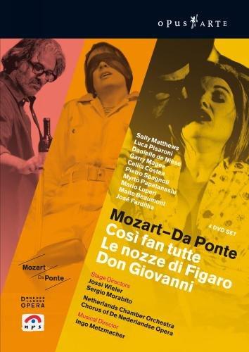 Mozart - Da Ponte (Cosi fan tute / Le nozze di Figaro / Don Giovanni) [DVD]