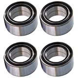 Polaris RZR 800 800S BOTH Front and Rear Wheel Bearings Qty. 4 2010-2014 (Manufactured after 01-01-2010)