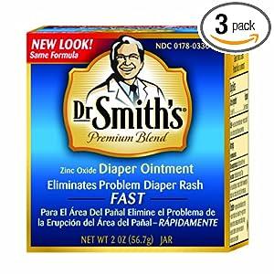 尿布疹软膏海淘:Dr.Smith's 史密斯博士宝宝尿布疹软膏