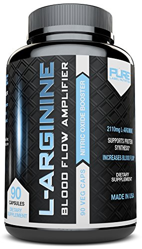 L-Arginine-No2-Nitric-Oxide-Booster-Build-Muscle-Increase-Strength-and-Boost-Sex-Drive-Best-and-Purest-L-Arginine-Top-Rated-Most-Effective-Dose-for-Men-and-Women-MADE-IN-USA-by-Pure-Label-Nutrition