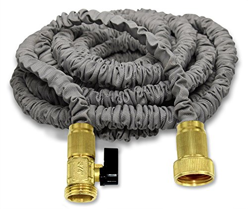 New 150u0027 Expanding Hose By (Titan), Professional Grade Expandable Garden  Hose. Solid Brass Connectors, Durable Double Layer Latex Core, Extra  Strength ...
