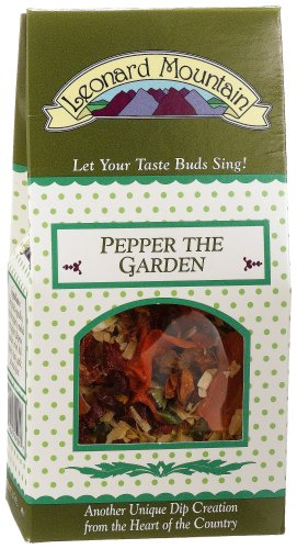Leonard Mountain Pepper The Garden - Chipotle Veggie Topper, 1.75-Ounce. Boxes (Pack of 6)