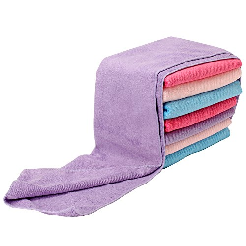 Yinglite - Blu, Asciugamano da sport 100% microfibra, ultra assorbente, asciugatura rapida,Asciugamano da doccia/spa ,Per sport, bagno, piscina o spiaggia,Asciugamano da bagno,accappatoi (Blu, Asciugamano da sport)