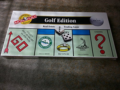 The GOLF EDITION of the MONOPOLY Game - 1