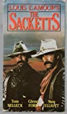 Louis L'amour's The Sacketts (2 Tapes)