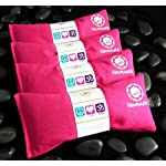 Namaste Yoga Unscented Eye Pillow – Pink – Set of 4
