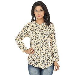 Adhaans Women's Floral Print Casual Shirt