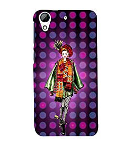 College Tinage Girl 3D Hard Polycarbonate Designer Back Case Cover for HTC Desire 626 G::HTC Desire 626G Plus::HTC Desire 626G+