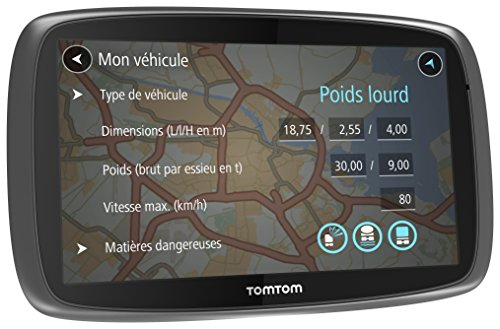 tomtom gps camion trucker 5000 5 pouces europe 48. Black Bedroom Furniture Sets. Home Design Ideas