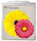 EuroQuest Imports Daisies Deco Parchment Leaves, Package of 20