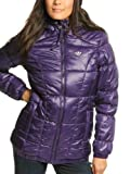 Adidas Damen Winterjacke Originals AC LONG, eggplant, 40