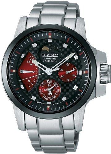 SEIKO (セイコー) 腕時計 BRIGHTZ PHOENIX ブライツ フェニックス キネティック ダイレクトドライブ ムーンフェーズ ブライトチタン 限定モデル SAGG021 メンズ