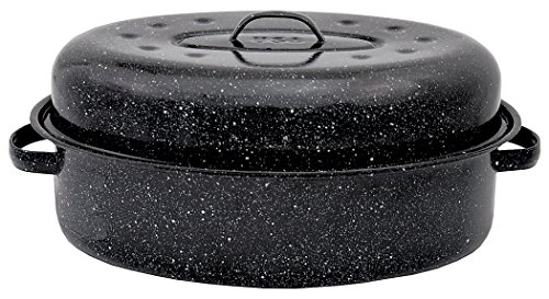 Granite Ware 509-2 18-Inch Covered Oval Roaster