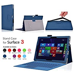 Elsse for Surface 3 - Premium Folio Case with Built in Stand for Microsoft Surface 3 - 10.8