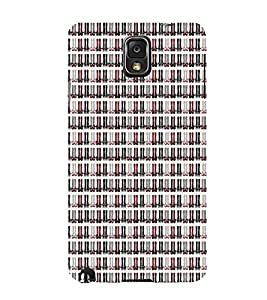 Cute Leather Shoes 3D Hard Polycarbonate Designer Back Case Cover for Samsung Galaxy Note 3 N9000 :: Samsung Galaxy Note 3 N9002 :: Samsung Galaxy Note 3 N9005 LTE