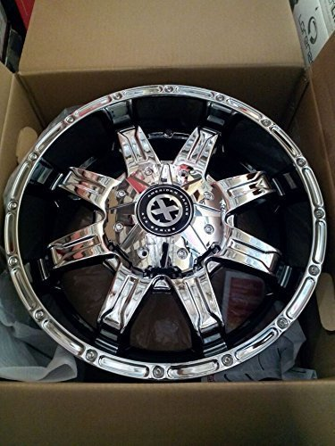 FOUR 20 INCH AMERICAN RACING CHROME WHEELS RIMS SET 20X9 5X150 AX19229058818 (Set Of 20 In Rims compare prices)
