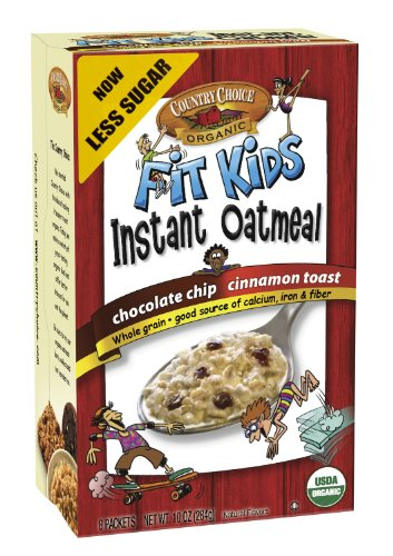 Country Choice Organic Fit Kids Instant Oatmeal
