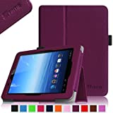 Fintie E FUN Nextbook Premium 8HD SE NX008HD8G Tablet Folio Case Cover - Premium Leather With Stylus Holder 3 Years Warranty [June 2013 Wal-Mart Release] - Purple