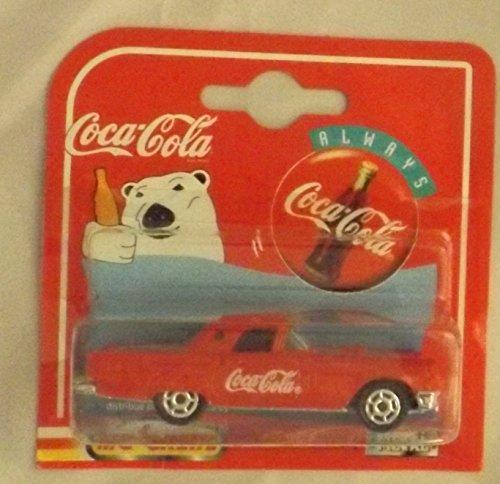 Coca Cola Pola Bear Majorette Metal Car