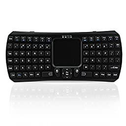 abcGoodefg® Mini Touchpad Keyboard for Windows Google IOS Android Smart TV.