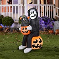 Halloween Airblown Inflatable 4.5 ft. Reaper's Surprise