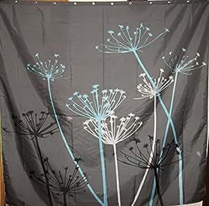 gray dandelion waterproof polyester cloth