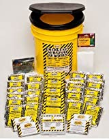 Emergency Survival Kit Bucket - Economy - 1 Person