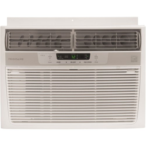 Frigidaire FRA106CV1 Energy Star 10,000 BTU 115 Volt Window Mounted Compact Air Conditioner with Temperature Sensing Remote Control