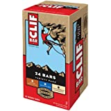 Clif Variety Bar 24 Count, 8 White Chocolate Macadamia Nut, 8 Chocolate Chip, 8 Crunchy Peanut Butter.