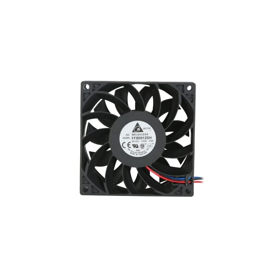 Delta Electronics FFB0912SH F00 92x92x25mm Cooling Fan, 90 02 CFM