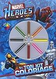 echange, troc Toucan - Marvel Heroes : Ton kit de coloriage