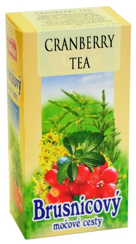 Cranberry Tea Natural Herbal Blend by Apotheke 20 tea bags