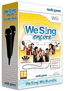 We Sing Encore plus 2 Mics (Wii)