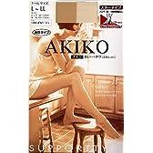 オールスルーストッキング AKIKO サンダルベージュ L-LL 日本製 着圧・足首フィット プレーン レディース シアータイツ