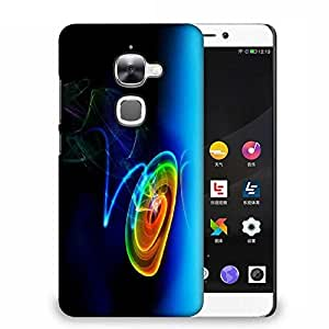 Snoogg Multicolor Disc Designer Protective Phone Back Case Cover For Samsung Galaxy J1
