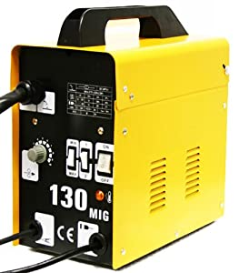 Mig-130 Gas-less Flux Core Wire Welder Welding Machine by XPUSA