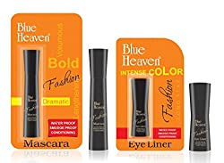 BLUE HEAVEN Fashion Eyeliner & Mascara Combo
